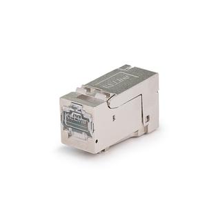 KELine, 40G HD keystone modul 1xRJ45 Cat.8 STP - beznástrojový KEJ-C8-S-HD